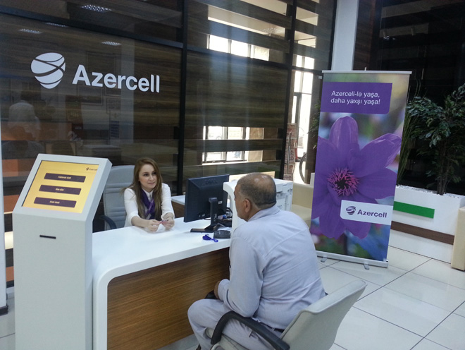 Photo: Azercell customer services now at ASAN service centers