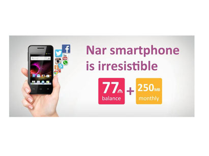 Photo: New campaign from Nar Mobile  / Azerbaijan