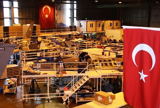 Photo: F35 jet engine parts factory opens in Turkey / Turkey