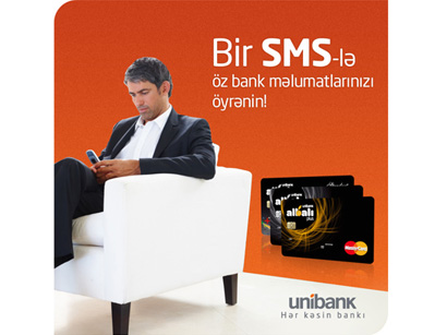 Photo: With one SMS bank in your pocket  / Economy news