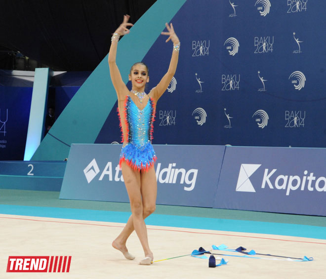 Photo: World champion hails European gymnastics championship in Baku / Society