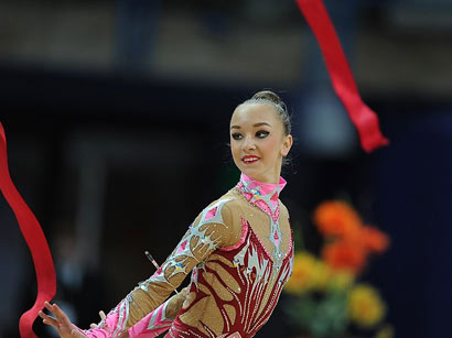 Photo: Russian gymnast wins in Baku, becomes 2-time European champion / Society