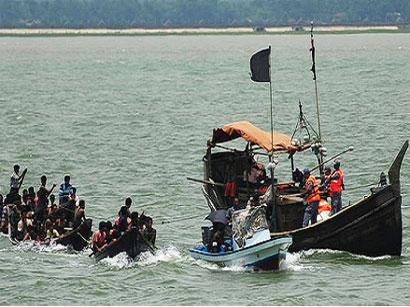 Photo: 66 missing as migrants' boat sinks in Malaysia