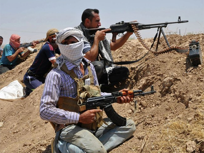 Photo: Militants capture two Iraq border crossings near Jordan, Syria / Arab World
