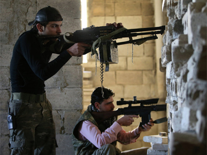 Photo: Islamist gains in Syria alarm some Assad allies / Arab World