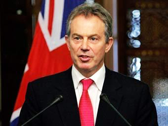 Photo: 'Sack Blair' as Mideast envoy, urges campaign