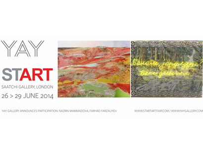 Photo: Baku Yay Gallery to take part in START Art Fair in London  / Society
