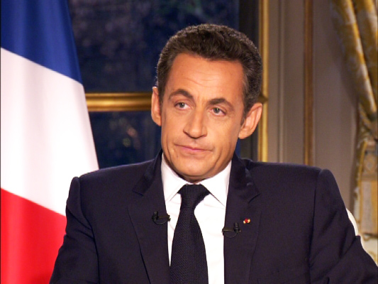 Photo: France's Sarkozy faces corruption probe in blow to comeback hopes