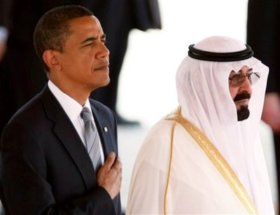 Photo: Saudi king, Obama call for Iraq unity govt