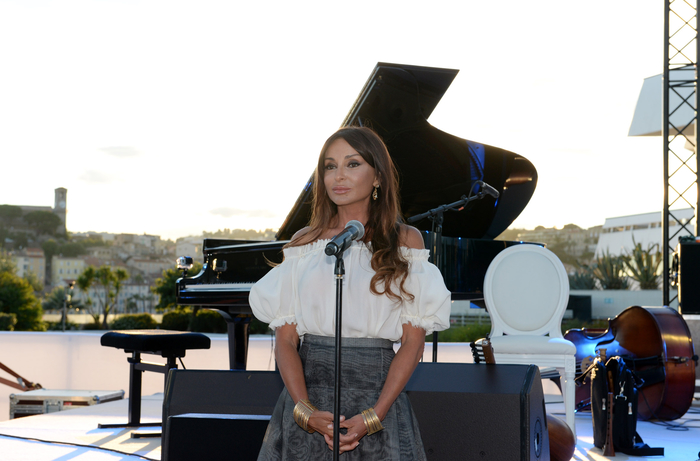 Photo: Azerbaijan today known worldwide as sport country, First Lady Mehriban Aliyeva says