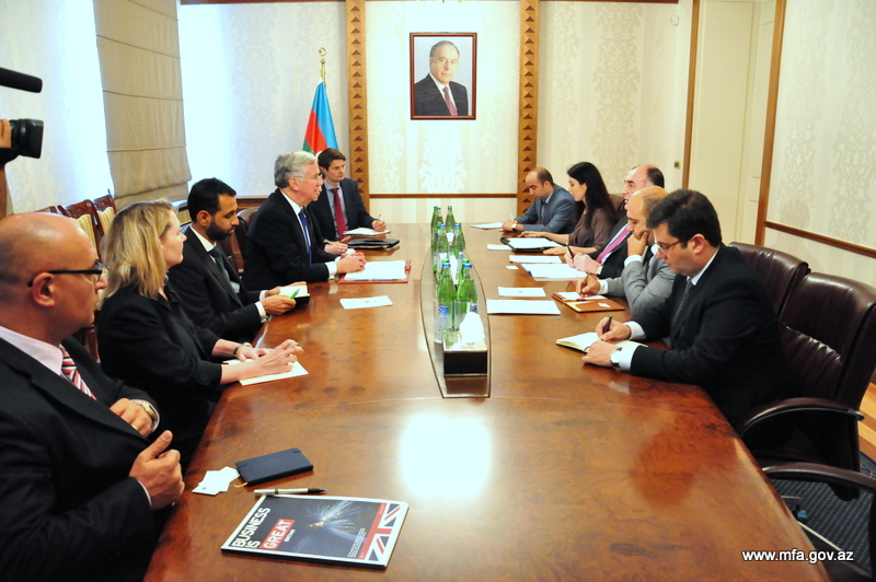 Photo: Azerbaijan, UK mull development of non-energy sector / Politics