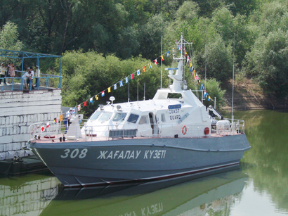 "Photo: ""Aybar"" patrol boats to protect Kazakhstan's shelf, territorial waters / Kazakhstan"