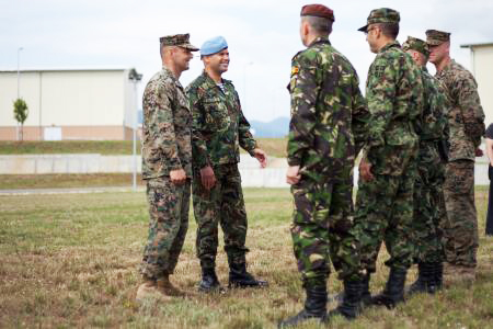 Photo: Azerbaijani armed forces to participate in military exercises in Bulgaria
