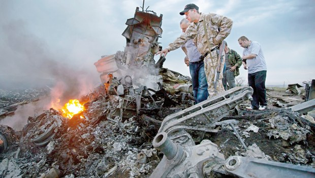Photo: The Netherlands demands international investigation into plane crash in Ukraine
