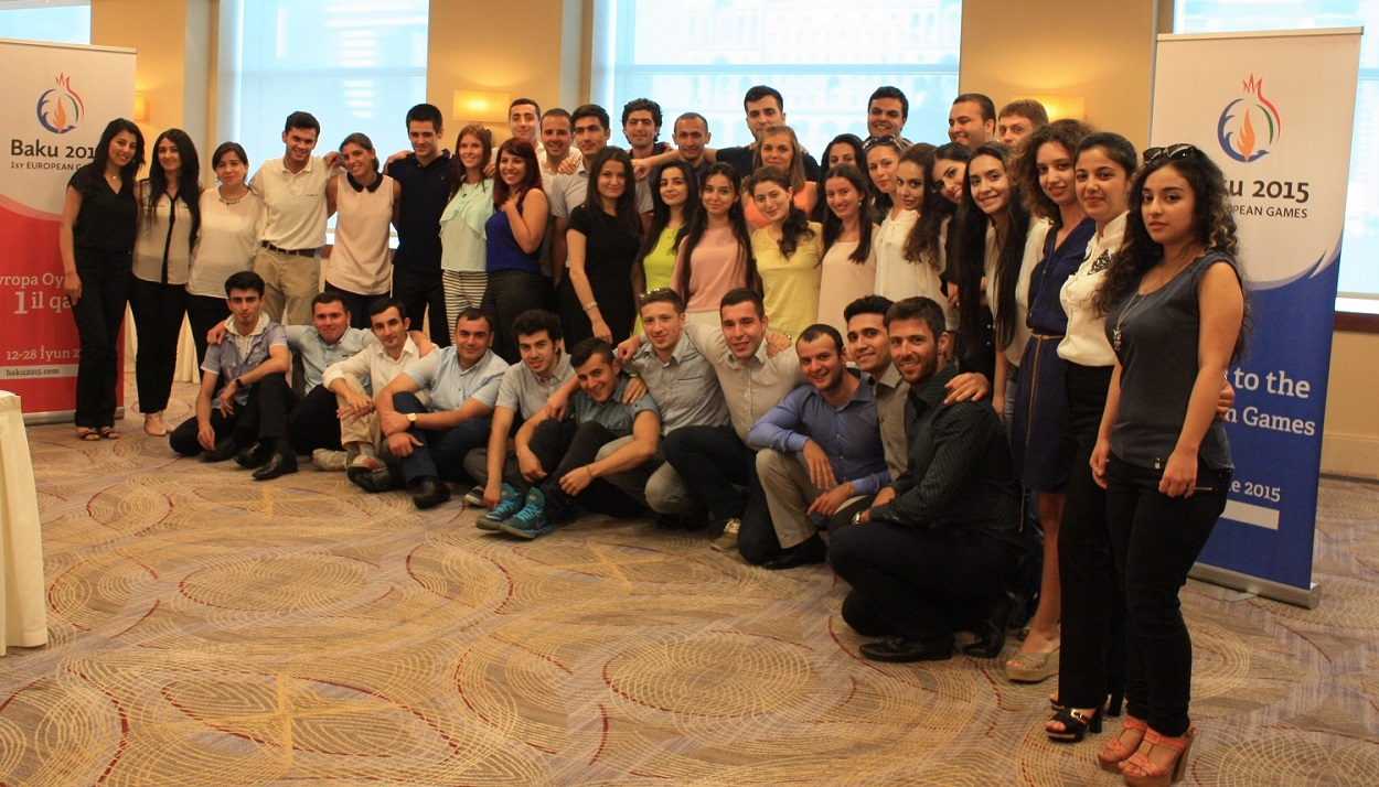 Photo: Baku 2015 welcomes first Games Academy graduates
