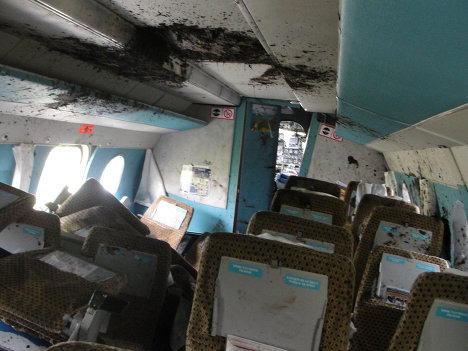 Photo: Plane crashes in Taiwan, killing 51 people