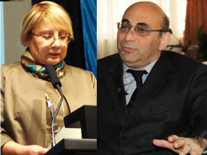 Photo: Azerbaijani human rights activists accused of cooperation with Armenia / Society