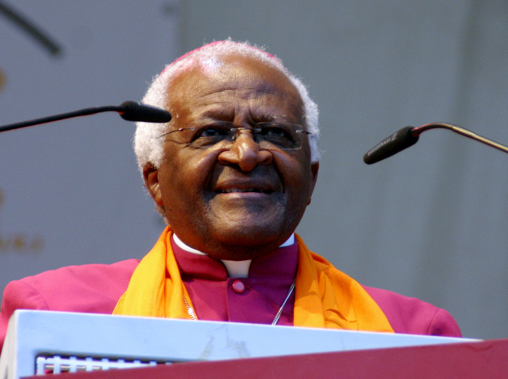 Photo:  Tutu backs Israeli-settlement funding boycott  / Arab-Israel Relations