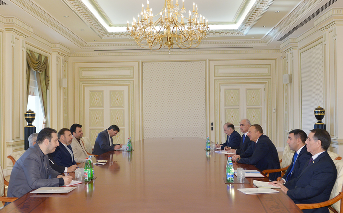 Photo: President Aliyev receives Iranian minister of communications and information technology / Politics