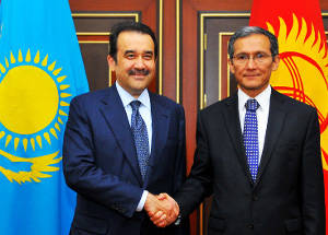Photo: Kazakhstan and Kyrgyzstan discuss cooperation / Kazakhstan