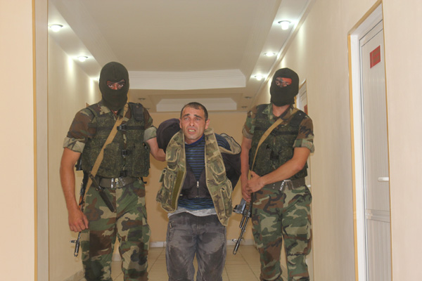 Photo: Armenian saboteur, detained Aug.7 in Azerbaijan, dies / Nagorno-karabakh conflict