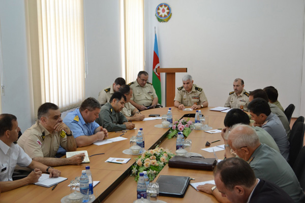Photo: Foreign military attaches in Azerbaijan informed about situation on contact line / Nagorno-karabakh conflict