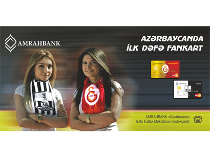 Photo: Azerbaijani Amrahbank offers new project for football fans