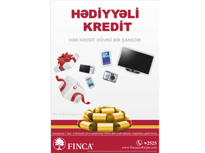 "Photo: ""FINCA Azerbaijan"" defined winners of ""LOANS with GIFT"" stimulatory lottery project / Economy news"