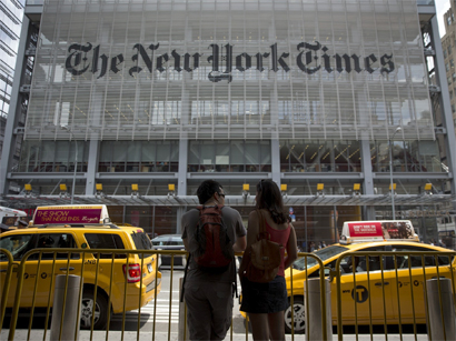 Photo: New York Times thanks Turkey for helping injured journalists / Turkey