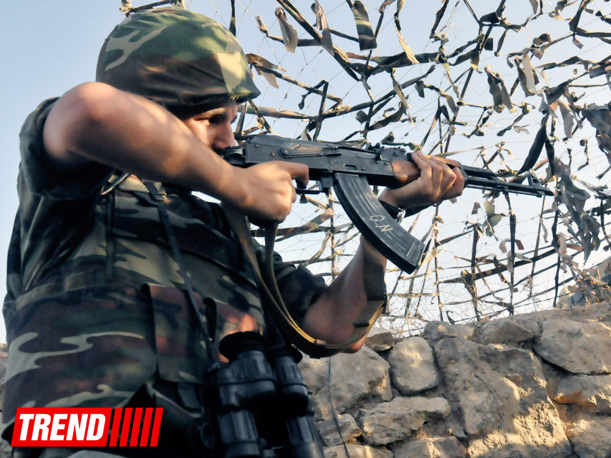 Photo: Armenian armed forces once again violate ceasefire with Azerbaijan / Nagorno-karabakh conflict
