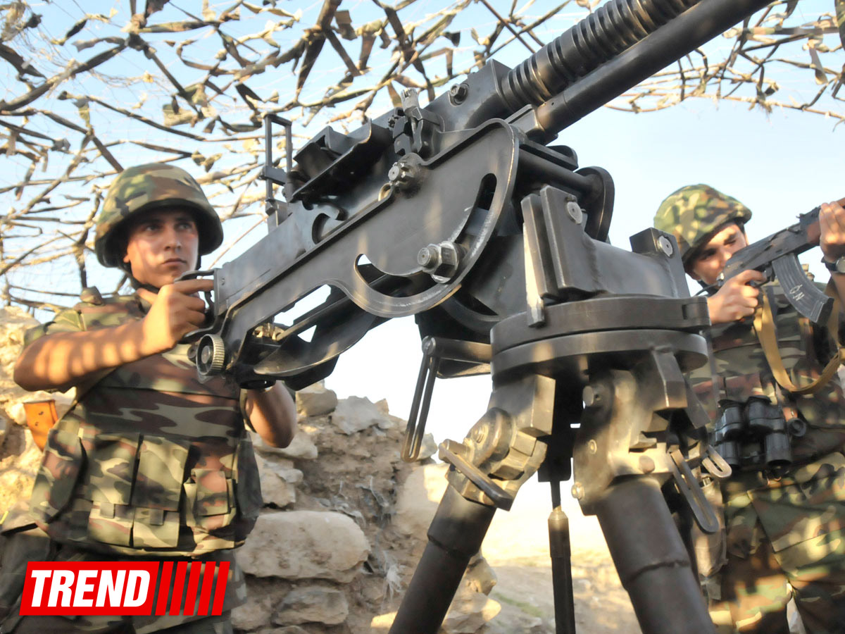 Photo: Armenian armed forces continue violating ceasefire with Azerbaijan