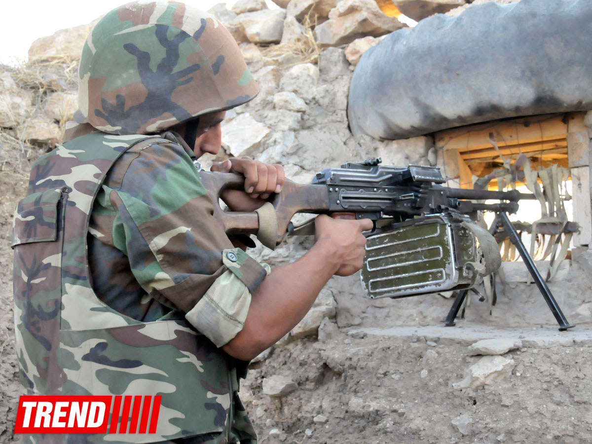 Photo: Armenian armed forces continue to violate ceasefire