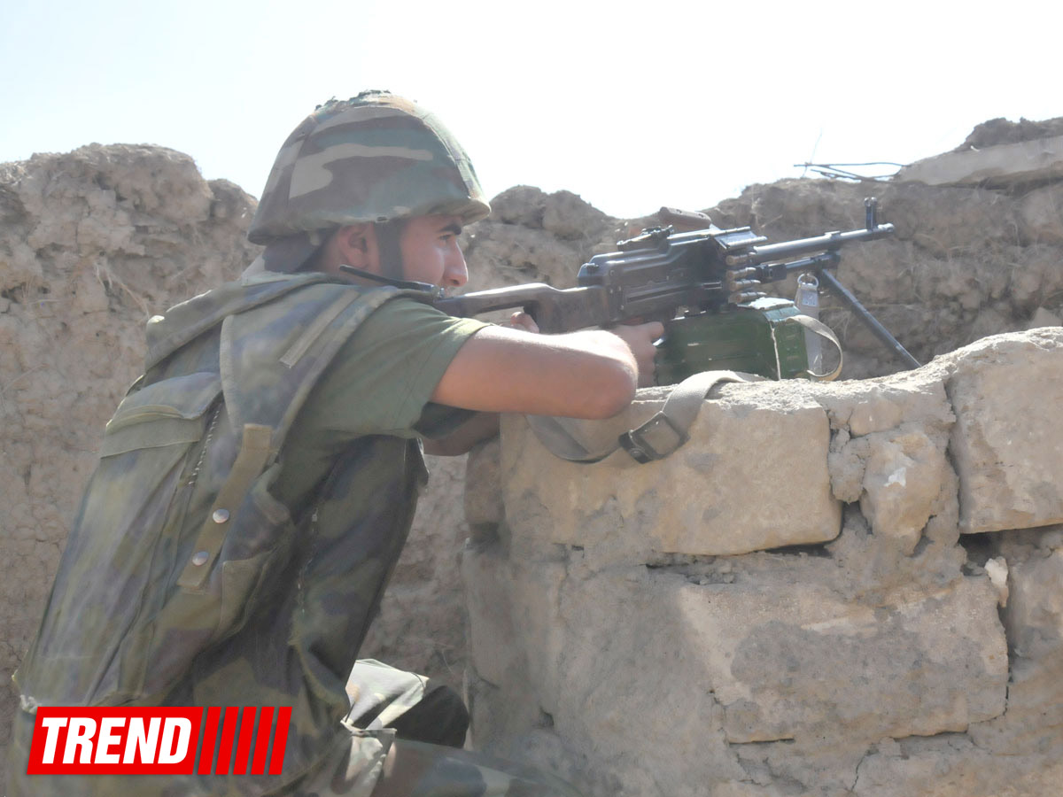 Photo: Armenian armed forces violate ceasefire in several directions / Nagorno-karabakh conflict