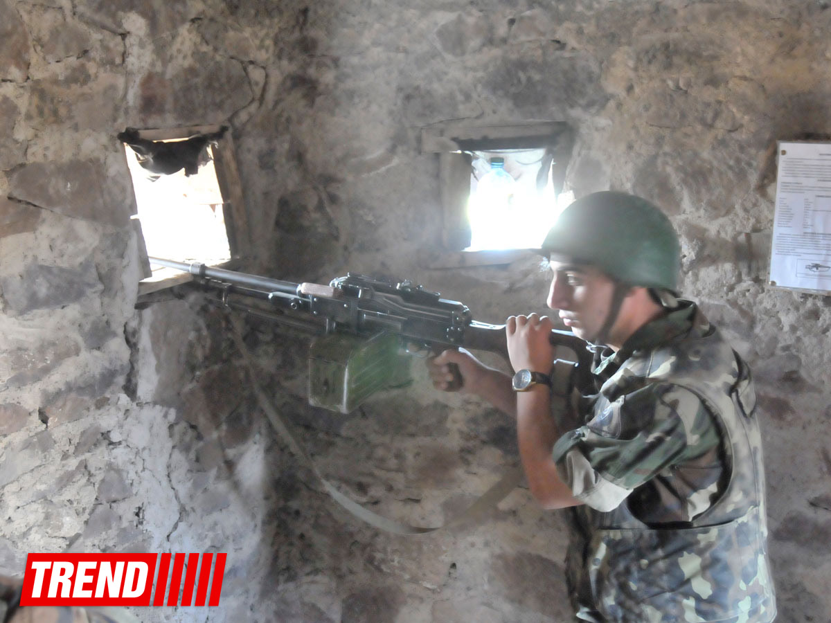 Photo: Armenian armed forces violate ceasefire with Azerbaijan / Nagorno-karabakh conflict