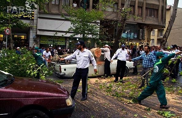 Photo: Heavy storm leaves five dead in Iran / Society