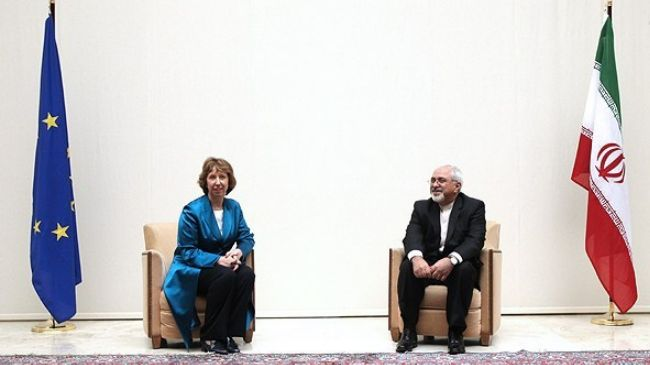 Photo: Zarif to have working lunch with Ashton in Brussels today / Iran