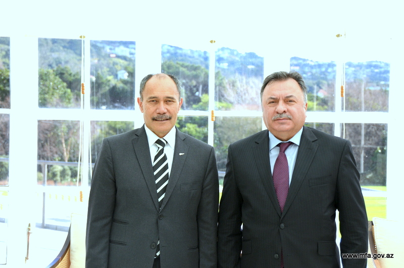 Photo: There is every reason to develop relations between Azerbaijan, New Zealand / Politics