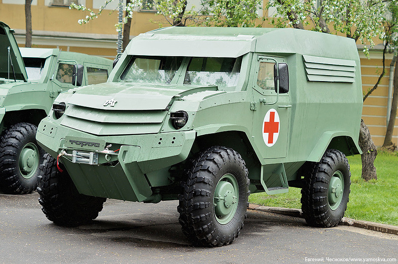 Photo: Georgia designs armored car for Saudi Arabia / Georgia