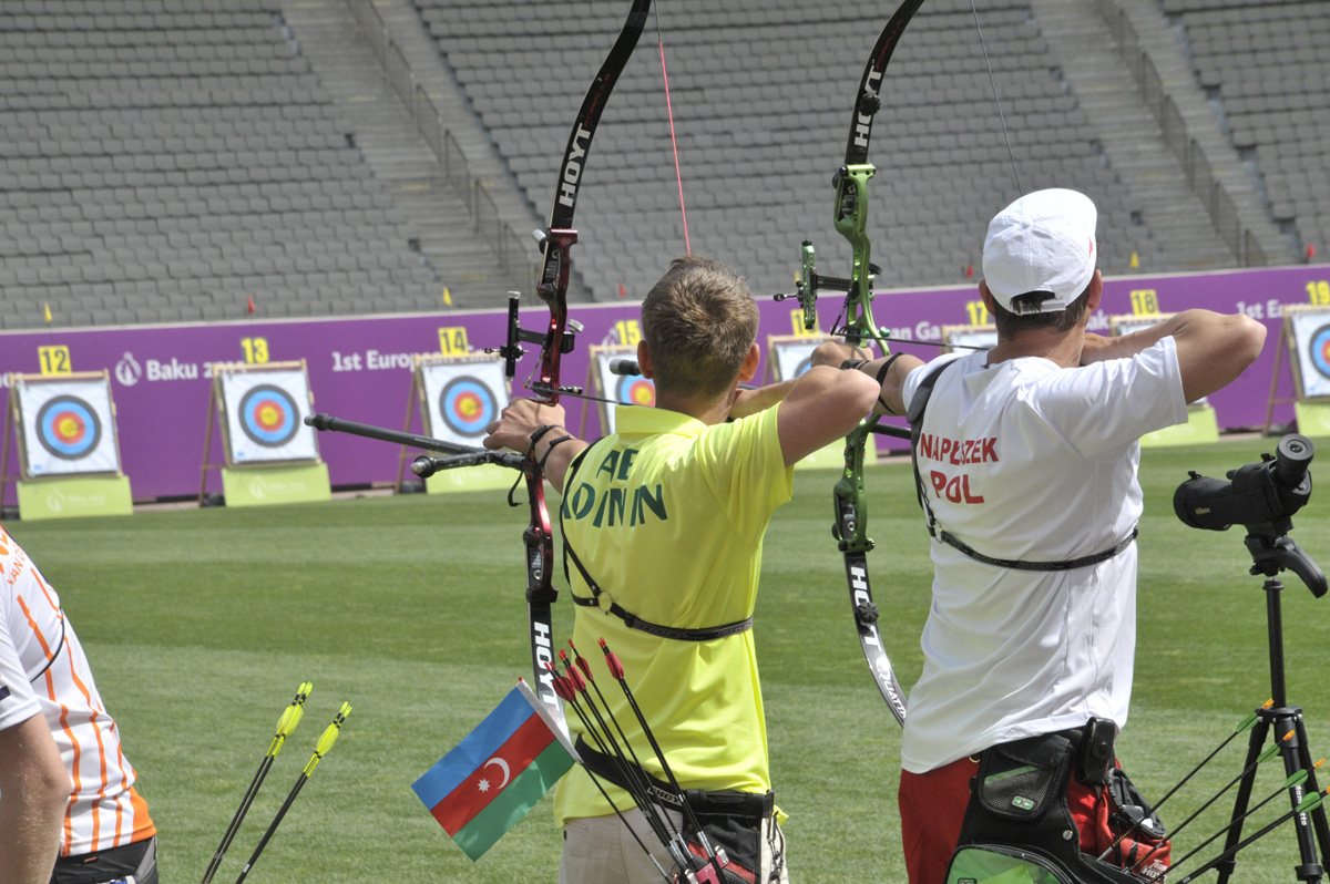 Photo: European Games can become qualifying event for Olympic Games archery competition / Baku 2015 : EUROGAMES
