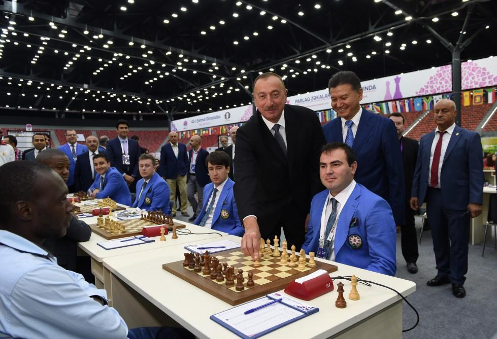 Сборная РФ одолела команду Туркменистана нашахматной олимпиаде