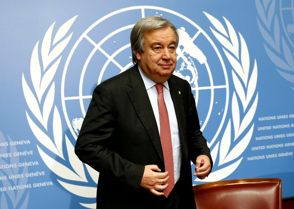 The most impossible job in the World is now held by Guterres
