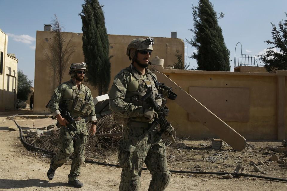 ВСирии погиб американский военный
