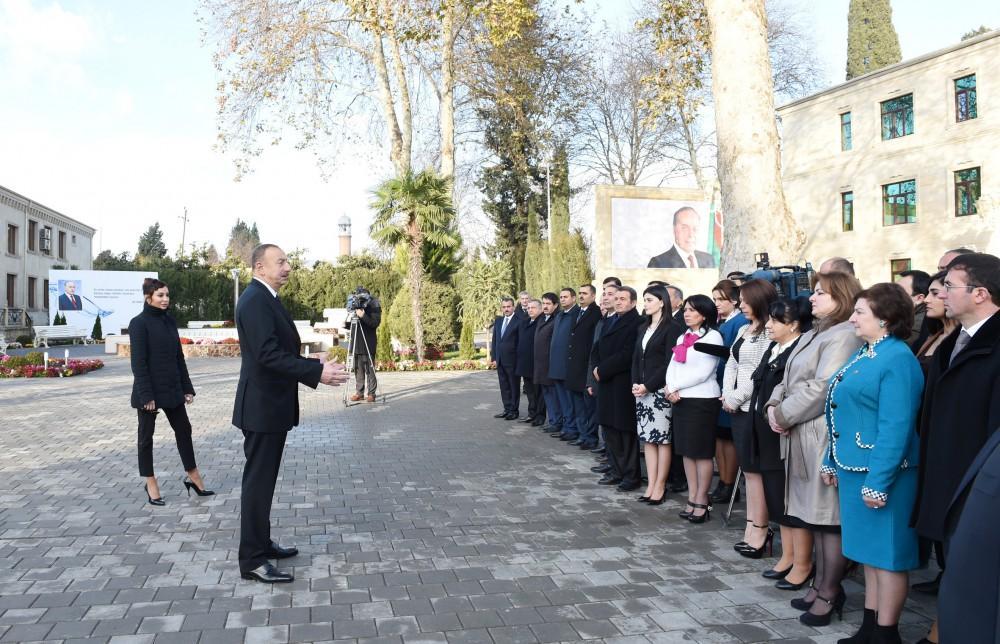 Prezident İlham Əliyev: Aprel döyüşləri bizim şanlı tariximizdir