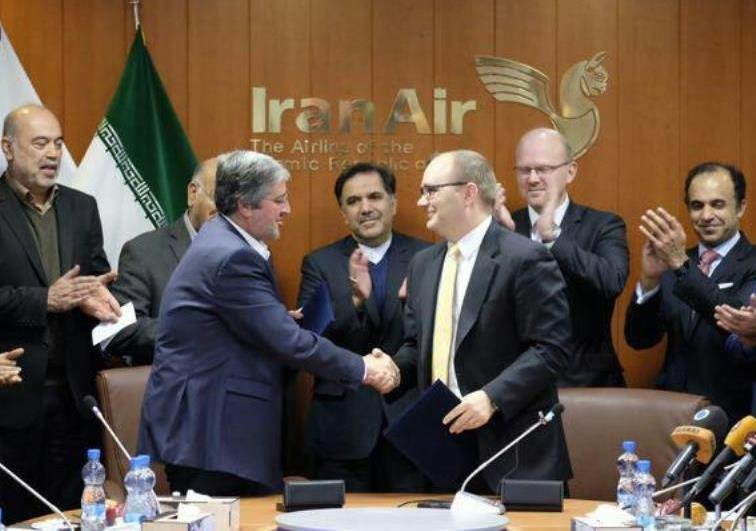 Iran buys Boeing aircraft from America