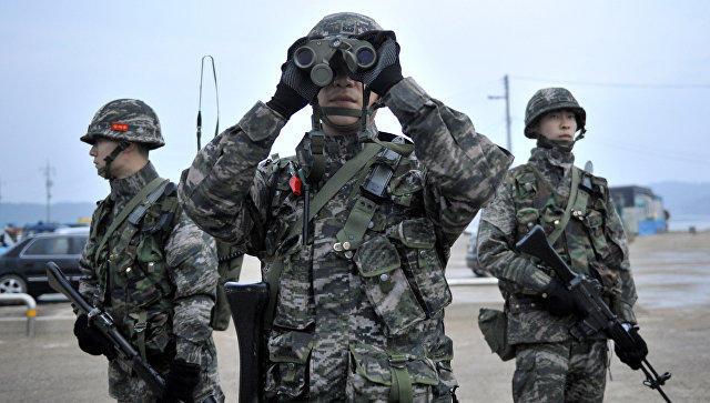В итоге взрыва навоенной базе вЮжной Корее пострадали 23 человека
