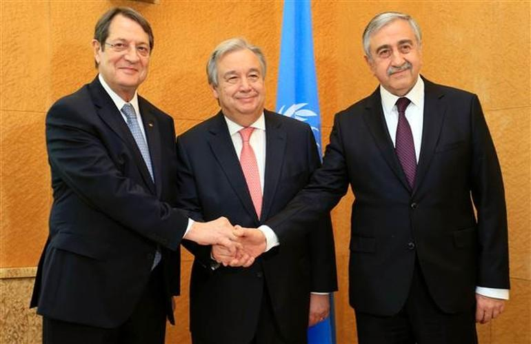 Cyprus reunification talks conclude with plan to keep talking