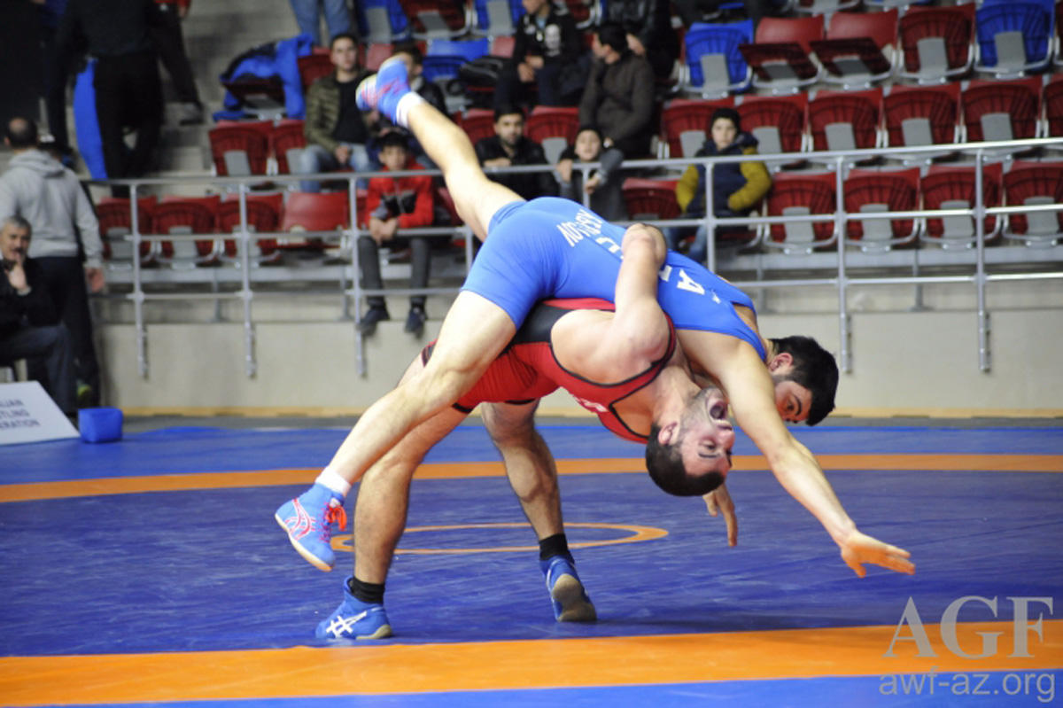 Iran defeats U.S. at freestyle wrestling world cup