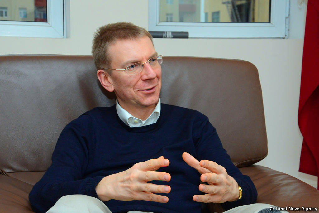 Rinkevics: Peace talks – only way to solve Karabakh conflict (exclusive)