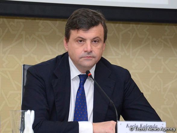 Italy keen to boost co-op with Azerbaijan in non-oil sector