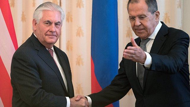 Lavrov and Tillerson Discuss Strategic Issues During Meeting at Russian UN Mission